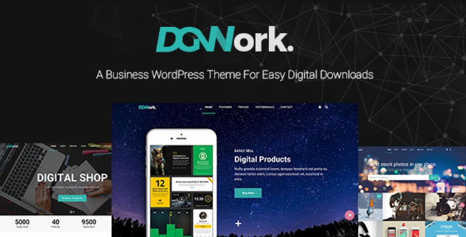 DGWork WordPress Theme