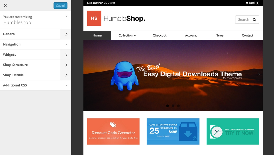 Humbleshop WordPress Theme