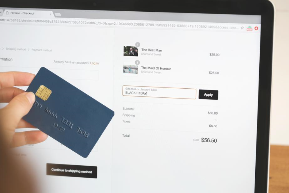 Simplify the Checkout process and provide multiple payment options
