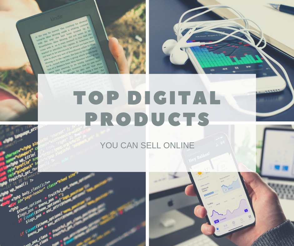 Best digital products to sell online