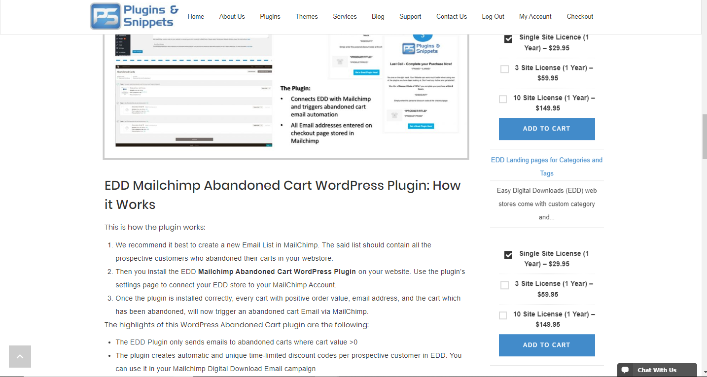 EDD Recently Viewed Downloads displaying as a sidebar widget without the downloads image