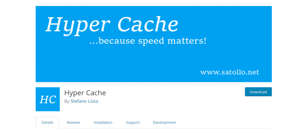 hyper cache wordpress caching plugin