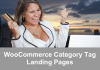 WooCommerce Category Tag Landing Pages
