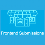 frontend submissions plugin for digital product marketplace